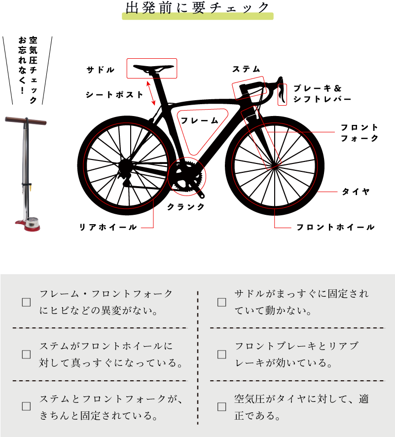 サイクリング 自転車